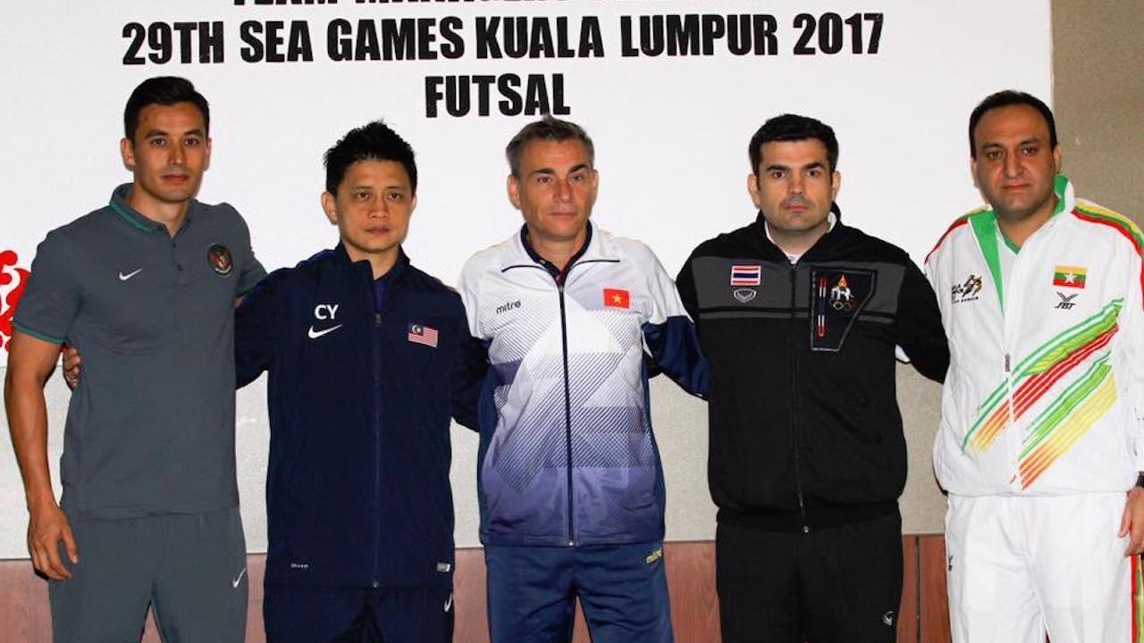 Lịch thi đấu SEA Games ngày 18/8: Futsal Việt Nam đụng độ Thái Lan