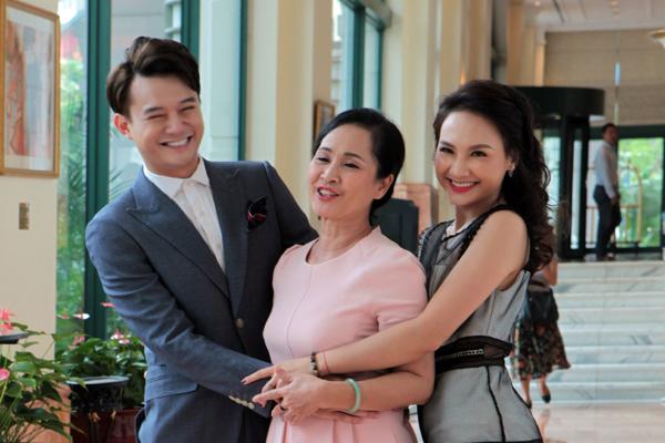 Sống chung với mẹ chồng, Bảo Thanh, Anh Dũng, NSND Lan Hương