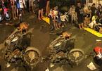 Hà Nội: Thanh niên say rượu tông bà bầu, 4 người bị thương