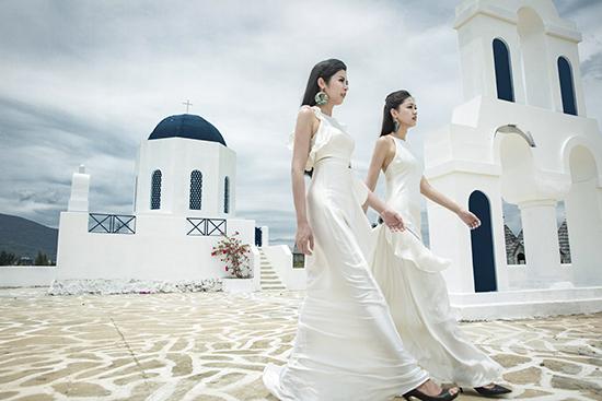Hoa hậu Ngọc Hân, Á hậu Thanh Tú quyến rũ khó rời mắt