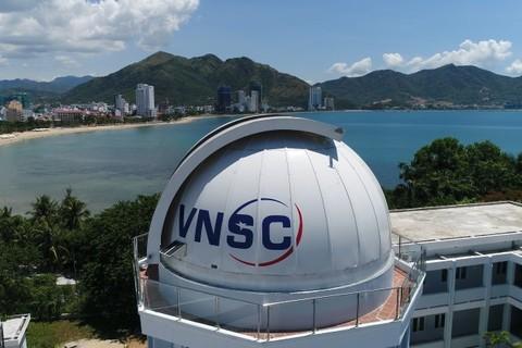 Đài thiên văn đầu tiên của Việt Nam nhìn từ trên cao