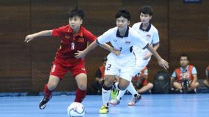 SEA Games ngày 18/8: Futsal nữ Việt Nam thua tiếc nuối Thái Lan