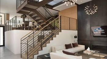 Thiết kế cầu thang trong nhà cũng cần đúng phong thủy để hút tài lộc