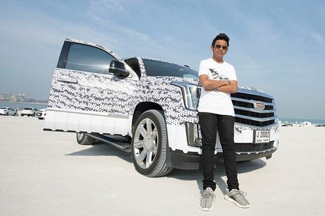 thiếu gia Dubai, cậu ấm Dubai, Rashed Saif Belhasa, thiếu gia Dubai 15 tuổi