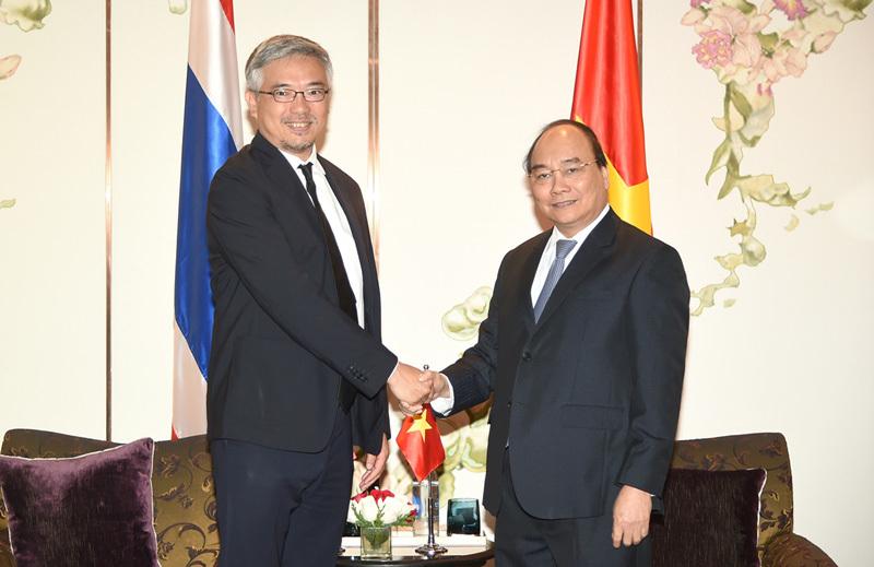 Thủ tướng Nguyễn Xuân Phúc,Nguyễn Xuân Phúc,Thủ tướng thăm Thái Lan,Thái Lan