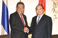Thủ tướng tiếp Chủ tịch Hội Hữu nghị Thái-Việt