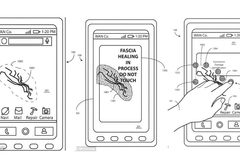 Motorola xin cấp sáng chế smartphone tự liền màn hình vỡ