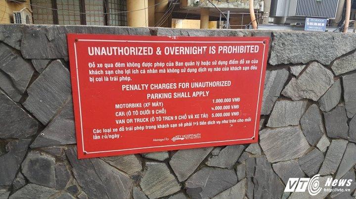 Gửi xe máy khách sạn 1 triệu/đêm, nhiều ô tô bị phạt tới 4 triệu