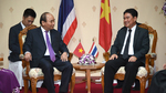 Thủ tướng làm việc với Tỉnh trưởng Nakhon Phanom, Thái Lan