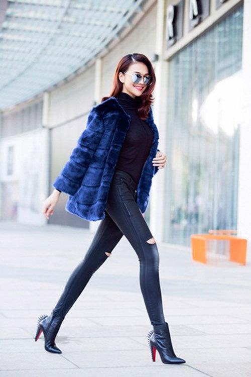 Mix thời trang công sở cho ngày se lạnh