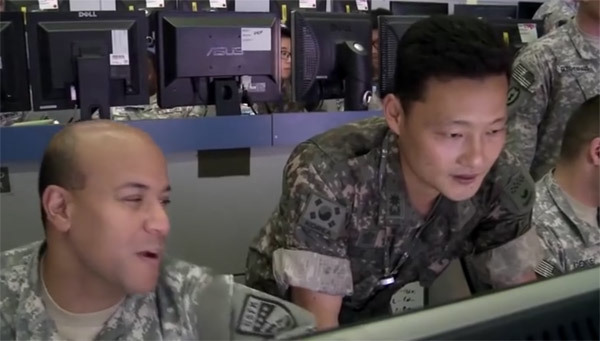 Hé lộ cuộc tập trận của các 'chiến binh bàn phím' Mỹ-Hàn chống Triều Tiên