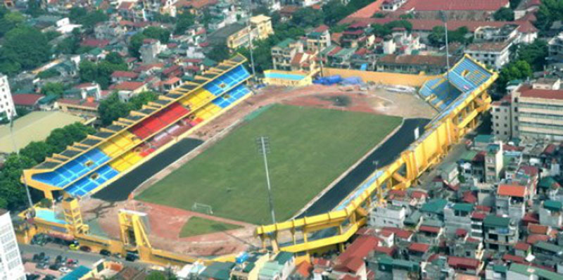 Di dời Sở Kế hoạch đầu tư, mở rộng sân vận động Hàng Đẫy