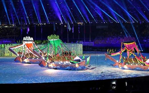 Lễ khai mạc SEA Games 29: Độc đáo và chưa từng thấy
