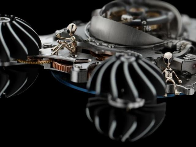 Siêu đồng hồ 'người ngoài hành tinh' hơn 11 tỷ, thế giới chỉ có 4 chiếc