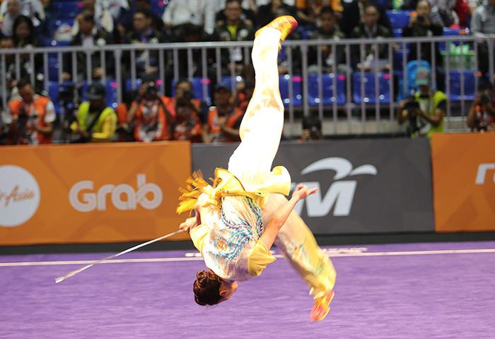 Khoảnh khắc Thúy Vy 'mở hàng' Vàng SEA Games 29 cho Việt Nam