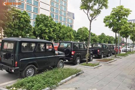 'Đập thùng' ô tô Uaz Hunter máy dầu siêu rẻ tại Hà Nội
