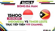 U22 Đông Timor suýt gây địa chấn trước U22 Indonesia