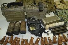 Bắt giữ hành khách mang vũ khí quân sự chuẩn bị lên máy bay