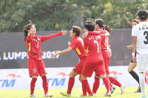 Nữ Việt Nam 3-1 Myanmar
