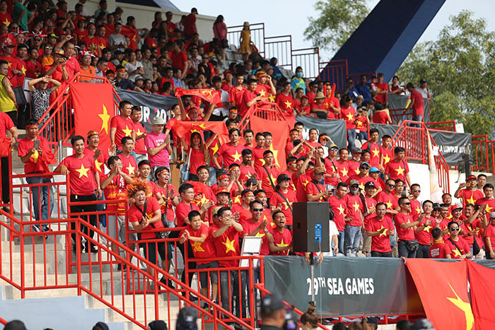 Tuyển nữ Việt Nam, bóng đá SEA Games 29, Đoàn thể thao Việt Nam