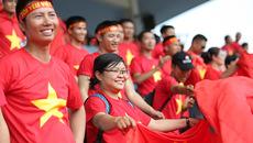 Xúc động CĐV phủ đỏ khán đài tiếp sức tuyển nữ Việt Nam