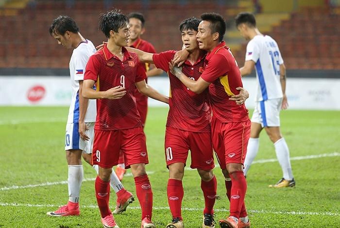 kết quả SEA games 29, U22 Việt Nam, U22 Philippines, bóng đá SEA games 29
