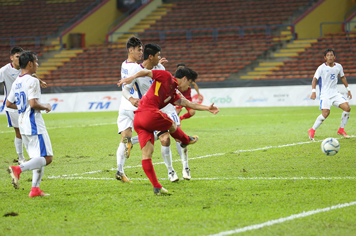 Video bàn thắng U22 Việt Nam 4-0 U22 Phillipines