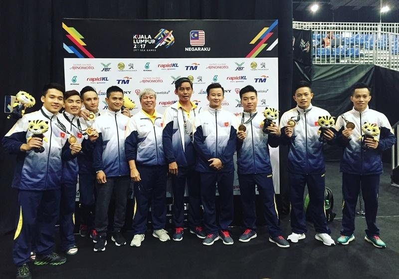 SEA Games 20/8: TDDC giành HCV thứ 4 cho Việt Nam