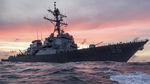 Mỹ rốt ráo tìm 10 thủy thủ mất tích sau vụ đâm tàu