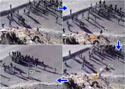 Video xung đột giữa quân đội hai nước Trung-Ấn ở ven hồ Pangong Tso