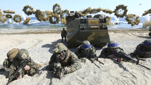 Mỹ-Hàn tập trận, Triều Tiên dọa tấn công tàn khốc