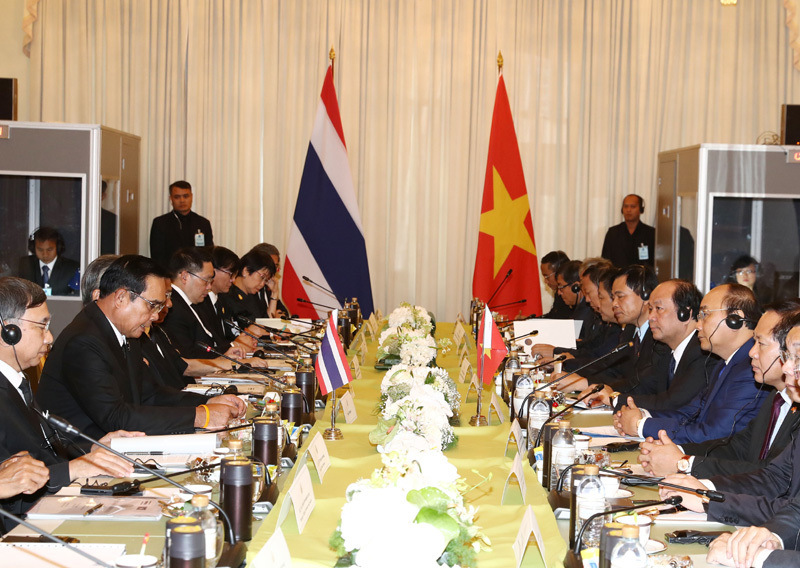 Thủ tướng Nguyễn Xuân Phúc, Nguyễn Xuân Phúc, Thủ tướng thăm Thái Lan