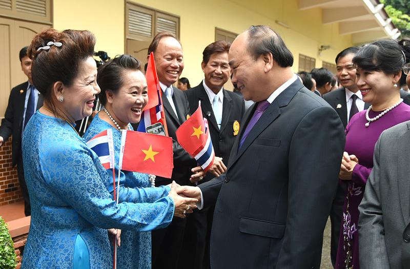 Thủ tướng Nguyễn Xuân Phúc,Nguyễn Xuân Phúc,Thủ tướng thăm Thái Lan