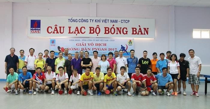 Nhiều hoạt động thể thao mừng Đại hội Công đoàn PV GAS