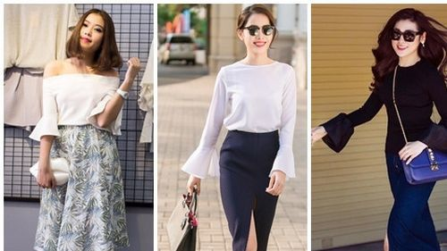 Bí quyết thời trang đánh tan nỗi lo vai to của nhiều cô gái