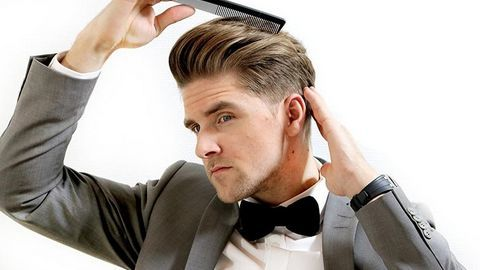 Chăm sóc tóc nam đơn giản tại nhà
