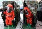 Dân Hàn tập chống tấn công chất độc sát biên giới Triều Tiên