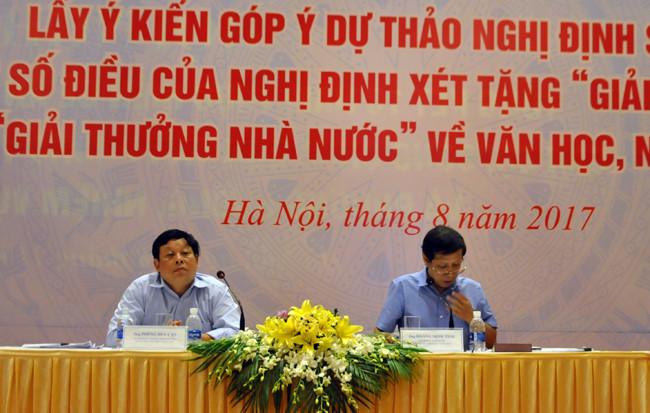 Tỷ lệ phiếu bầu 90% cho giải thưởng Hồ Chí Minh, Nhà nước là quá cao