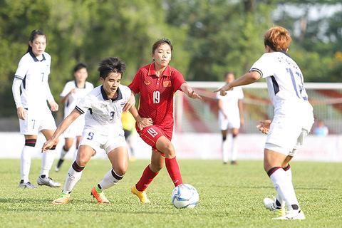 Nữ Việt Nam 1-1 nữ Thái Lan