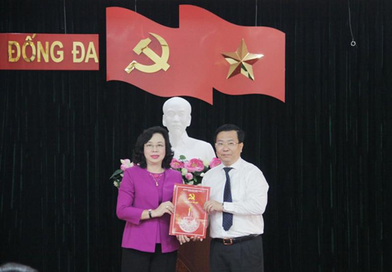 Phó Giám đốc Sở Xây dựng được giới thiệu làm Chủ tịch quận