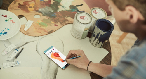 [VietnamNet.vn] Bút S-Pen 'thần kỳ' hơn với Galaxy Note 8 sắp ra mắt