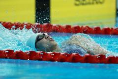Khoảnh khắc Ánh Viên phá kỷ lục nội dung 200m bơi ngửa