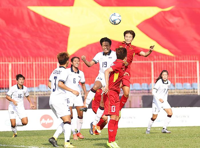 Trực tiếp bóng đá SEA games 29, trực tiếp SEA Games 29, nữ Việt Nam, nữ Thái Lan, bóng đá nữ SEA Games 29,HLV Mai Đức Chung