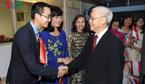 Tổng bí thư thăm Đại sứ quán VN tại Indonesia