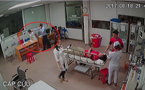 đánh bác sĩ, hành hung bác sĩ, an ninh bệnh viện, Nguyễn Đình Hoàng Thắng