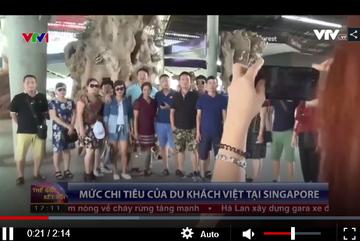 Du khách Việt tiêu bao nhiêu tiền tại Singapore?