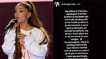 Ariana Grande bất ngờ hủy sô ở Việt Nam vào phút chót