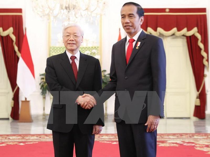 Việt Nam ưu tiên phát triển hợp tác nhiều mặt với Indonesia