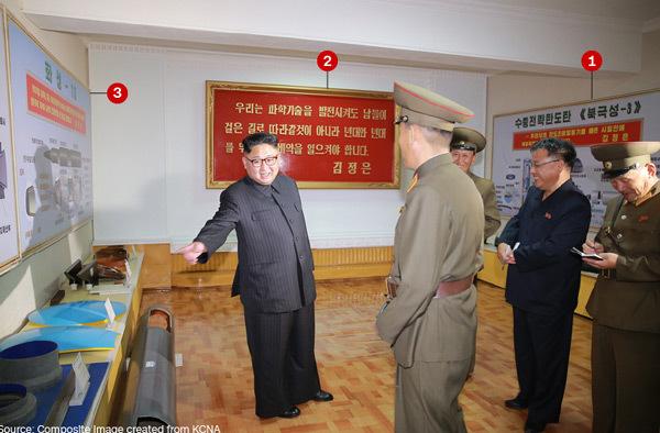 Lộ hình ảnh loại tên lửa chưa từng thấy của Triều Tiên