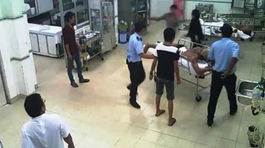 Côn đồ náo loạn bệnh viện, ẩu đả với người nhà bệnh nhân